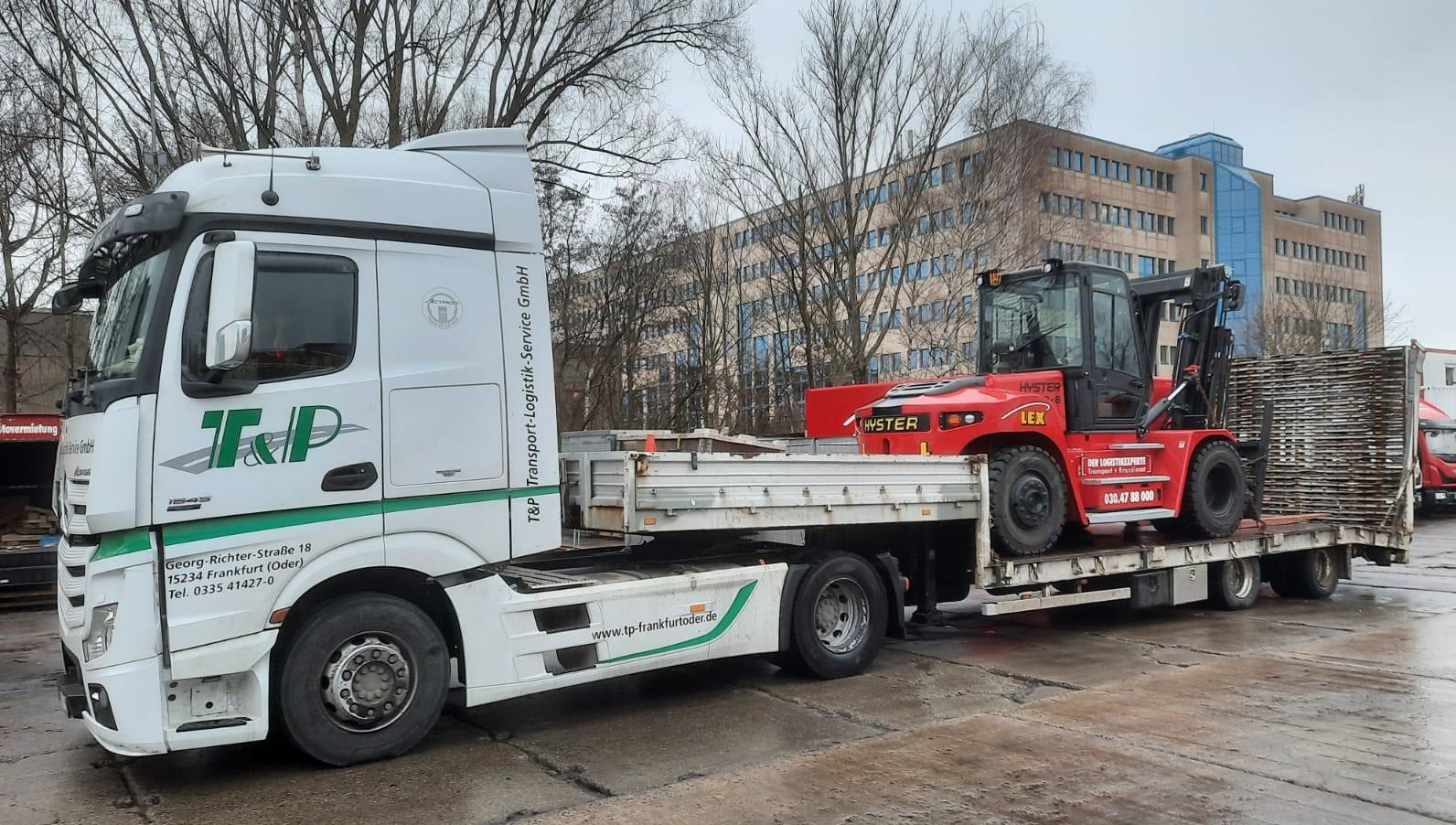 Spezialtransporte Arbeitsmaschinen